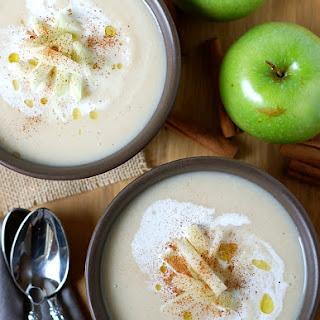 Cinnamon Apple Turnip Soup