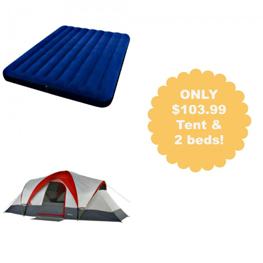 Hot Camping Bundle ONLY $103.9...