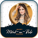 Eid Photo Frame : Eid Mubarak Photo Editor 2021 icon