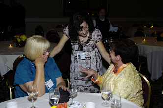 Photo: Leslie Van Doren Lynch,Faith Moody Fults and Sue Mertz