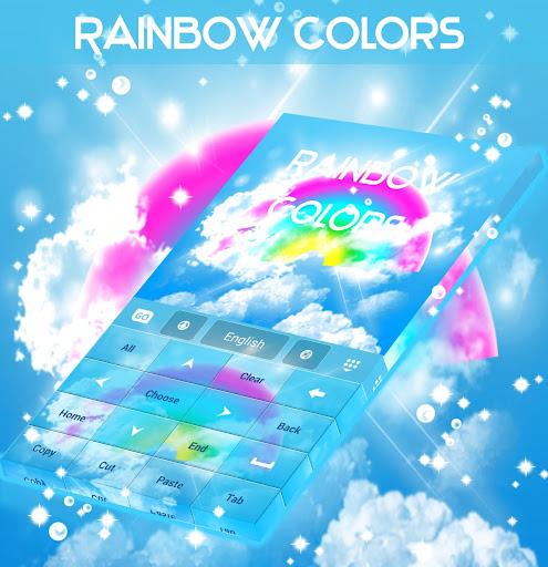 玩免費個人化APP|下載무지개 색 키보드 를 GO app不用錢|硬是要APP
