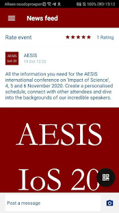 Download AESIS IoS20 conference For PC Windows and Mac apk screenshot 3