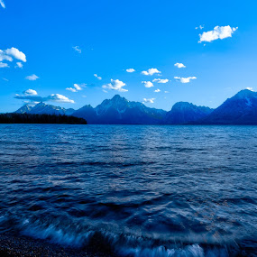 Grand Teton by Srivastav Reddy - Landscapes Waterscapes