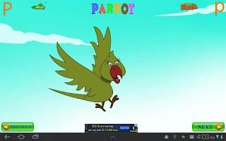 Screenshot of Animal Alphabets with Bheem
