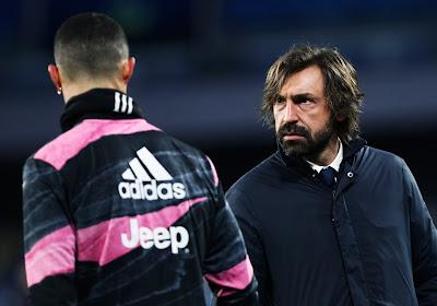 Cristiano Ronaldo blij dat hij gewisseld werd? Pirlo denkt alvast van wel...