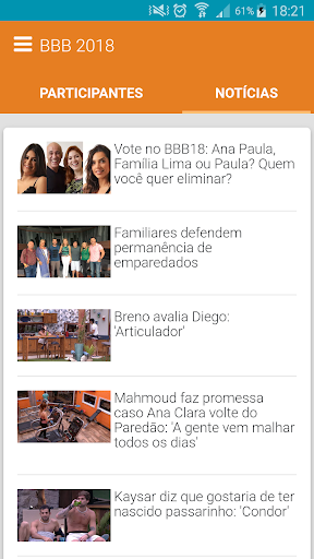 BBB 2018 - Fique atento for PC