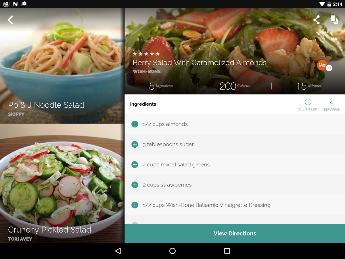 Yummly recipes shopping list android apps on google play yummly recipes shopping list screenshot forumfinder Image collections