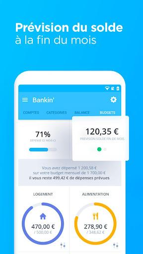 Bankin', l'app n°1 pour gérer votre argent screenshot