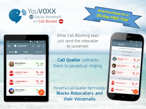 YouVOXX Voicemail, Call Blocker screenshot 10