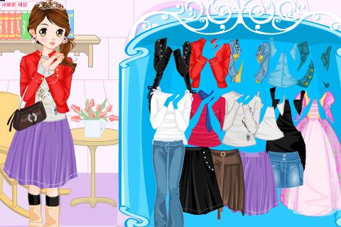Fashion Girl Dating Dress up