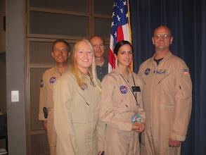 Photo: TOP GUNS! Research & Test Pilots Mark Pestana, Ashley Parham, Troy Asher, Kate Pavlock & Nils Larson.