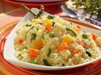 Spring Vegetable Couscous Recipe