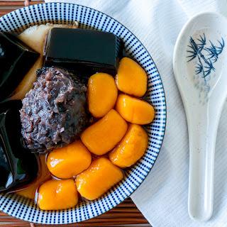 Taiwanese Jiu Fen Sweet Potato Balls [九份地瓜圆].