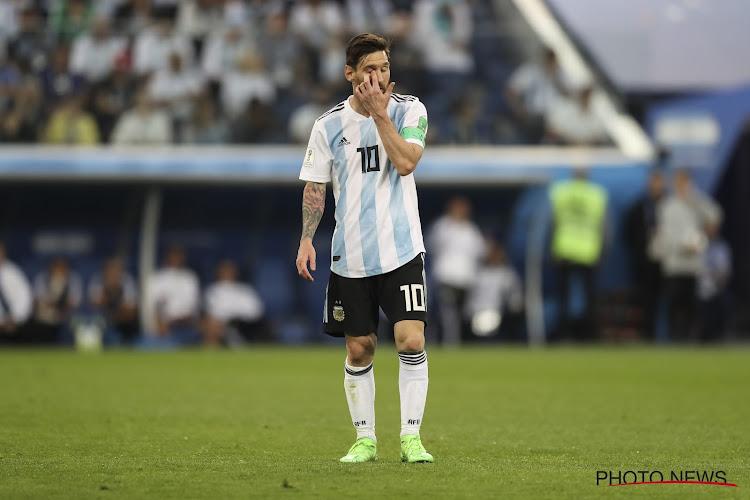 """Lionel Messi : """"Ce serait une folie de ne pas arriver à se qualifier"""""""