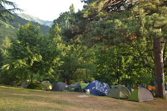 Photo: náš posledný kemp pod Monte d´ Oro
