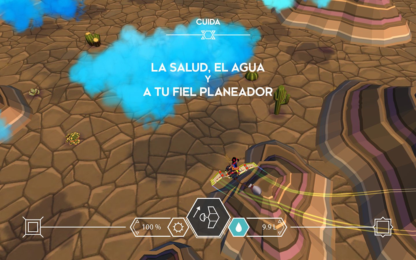 Cloud Chasers: captura de pantalla