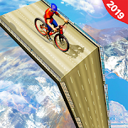 Mega Ramp BMX Racing Impossible Stunts