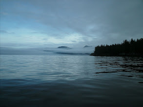 Photo: Heading north in Stephens Passage.