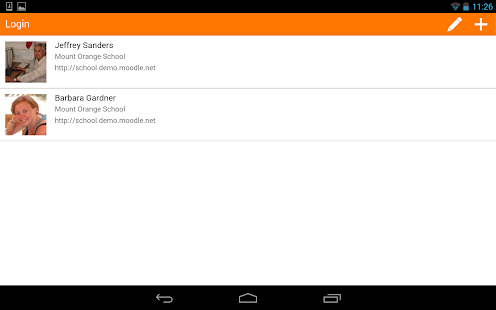 Moodle Mobile- gambar mini screenshot