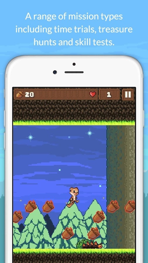 Tap Tap Squirrel- screenshot