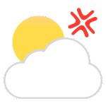 HumorCast - Authentic Weather Icon