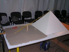 Photo: Une maquette réalisée par Mme Bacchitta (Maths)
