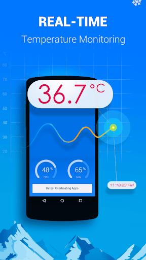 Cooling Master-Phone Cooler screenshot 1