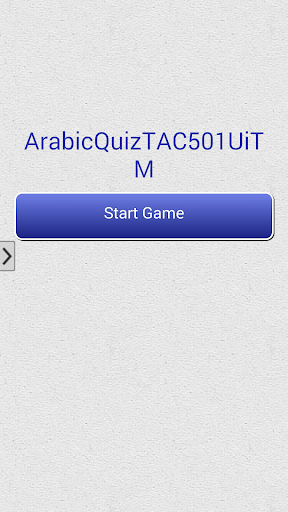 Arabic Quiz TAC501 UiTM