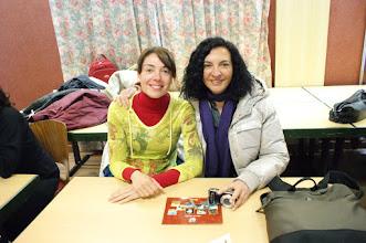 Photo: Angelina i Nati, les professores que vam anar a Estrasburg.