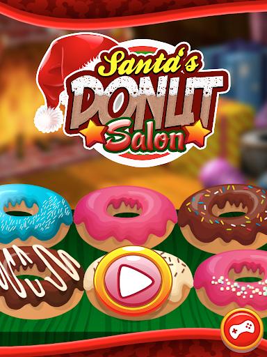 Christmas Donuts Santa FREE