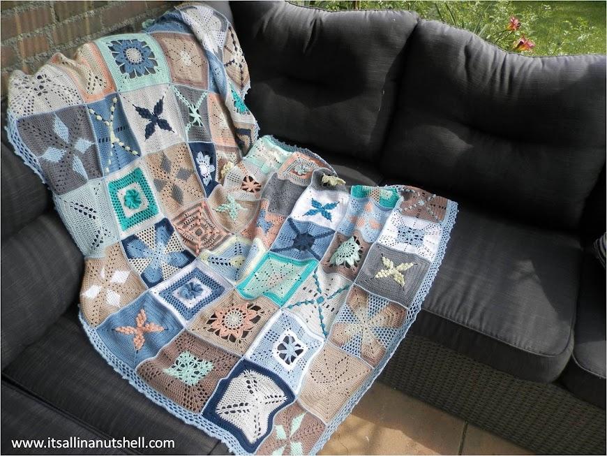 scheepjes cal 2014 granny square blanket