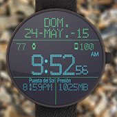 LED Watchface with Weather