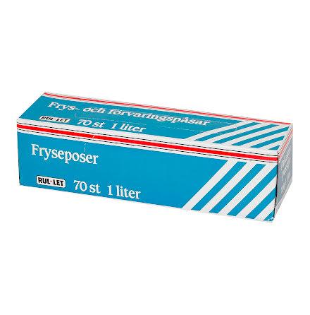 Fryspåse 1 liter 70 st/fp