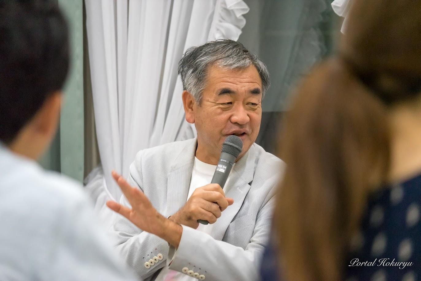建築家・隈研吾 氏(隈研吾建築年設計事務所主宰・東京大学教授)