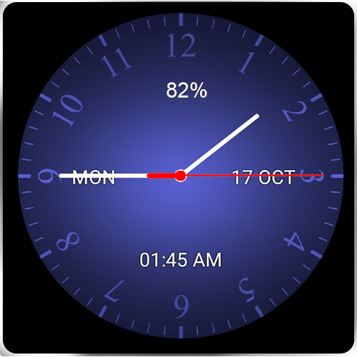 Super Analog Clock Live Wallpaper Android APK Download Free By Digital World's