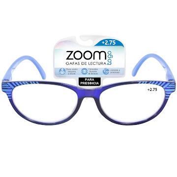 Gafas Zoom Togo Lectura   Sin Aro 1 Aumento 2.75 X1 Und