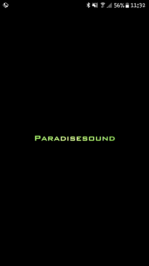 Paradisesound- screenshot