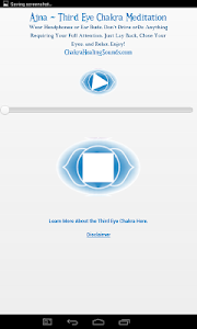 Third Eye Chakra Meditation screenshot 1