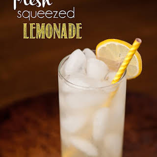 Fresh Squeezed Lemonade.