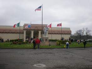 Photo: the front of the shrine building
