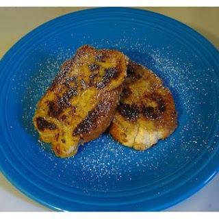 Microwave Cinnamon Toast