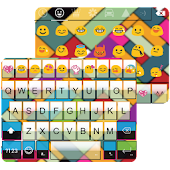 Rainbow Square Emoji Keyboard