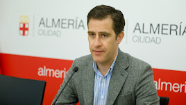 Miguel Ángel Castellón, primer teniente de alcalde de Almería.