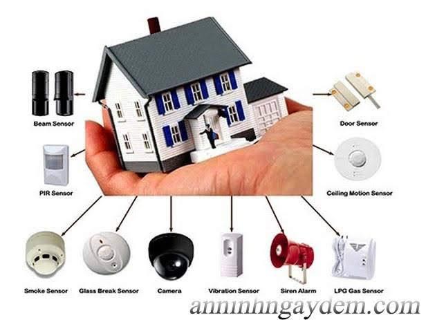 hệ thống báo trộm hệ thống báo trộm