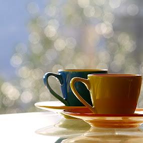 Caffè.....? by Mariateresa Toledo - Artistic Objects Cups, Plates & Utensils ( cup, colori, tazzine, still life, coffee, caffè, bokeh, pwc, pwccoffee,  )