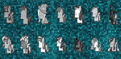 Pixel Art Pony