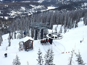 Photo: Winter held on at Wolf Creek for the 2015-2016 ski season allowing for two bonus weekend openings in April!