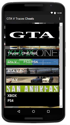 Trucos Cheats para GTA5 2.0 screenshots 5
