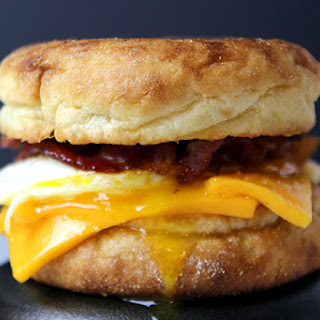 Egg, Bacon and Cheese McMuffin.