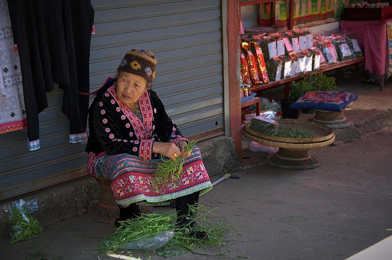 La venditrice di caffè senza più clienti di Kamone